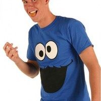 Sesame Street Cookie Monster Face T-shirt