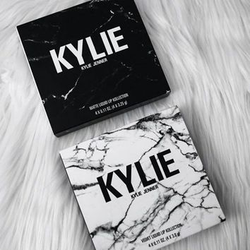 Kylie New Black White 4-pcs Lip Gloss [102484443151]