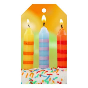 Candles Gift Tags