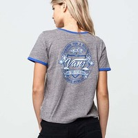 VANS Cruise Womens Ringer Tee | Graphic Tees