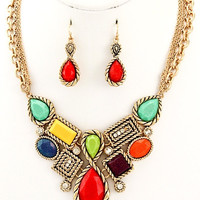 Picasso Statement Necklace