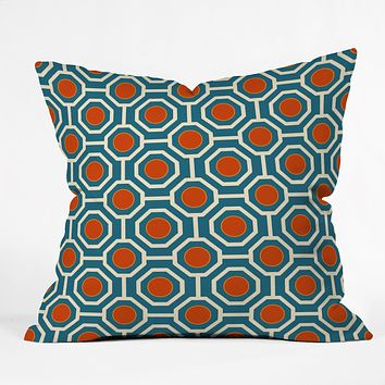 Caroline Okun Nautica Throw Pillow