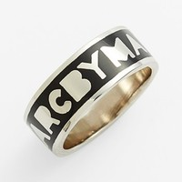 MARC BY MARC JACOBS 'Classic Marc - Tiny Dreamy' Logo Band Ring