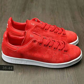 ADIDAS STAN SMITH Unisex Men & Women Casual Sport Print Adidas Stan Smith Shoe G-HAOXIE-ADXJ