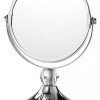 Mini Glamour Makeup Mirror - Bath Accessories - Bathroom Organization - Bath | HomeDecorators.com