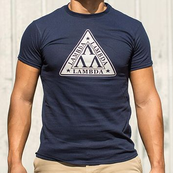 Lambda Lambda Lambda [Revenge of the Nerds] Men's T-Shirt