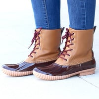 Rosetta Classic Lined Duck Boots {Brown}