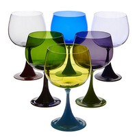 Burlesque Bourgogne Murano Wine Glass