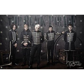 MY CHEMICAL ROMANCE POSTER The Black Parade RARE NEW 24x36