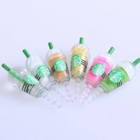 6 in 1 Universal Starbucks 3.5mm Anti-dust Plug Earphone Jack Accessory Frappuccino Combo