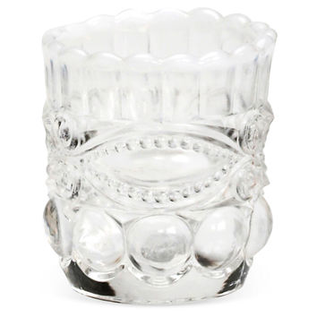 Toothpick Holders, Crystal, Set of 2, Napkin Rings & Holders