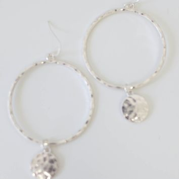 Dream Big Earrings - Silver