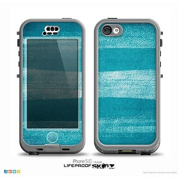 The Worn Blue Texture Skin for the iPhone 5c nüüd LifeProof Case