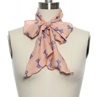 Twenty Years of Trends Scarf in Pink