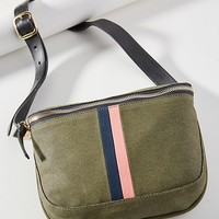 Clare V. Striped Waist Pack