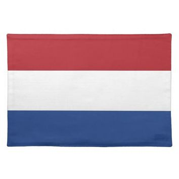 Netherlands Flag on MoJo Placemat