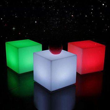 Multi-color LED Cube seat Several size available