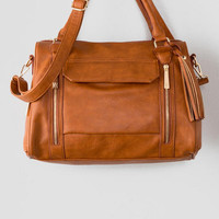 Violet Ray Pocket Satchel
