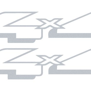 Ford F-150 and F-250 replacement 4x4 bedside vinyl graphic decals - STYLE 15 OEM