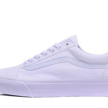 DCCKBWS Trendsetter VANS X Thrasher Slip-On Canvas Old Skool Flats Shoes Sneakers Sport Shoes