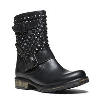 Steve Madden - MARCOO BLACK LEATHER