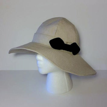 Church Hat, Wide Brim Hat, Sun Hat, Floppy Hat, Summer Hat, Woman's Hat, Red Hatter Hat,Kentucky Derby Hat