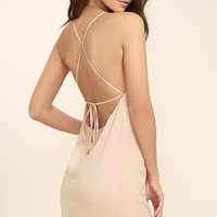 Top Pick Blush Slip Dress