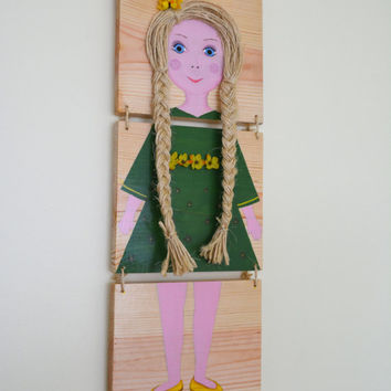 Custom Name Plaque/ Picture for girls.