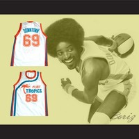 "Downtown ""Funky Stuff"" Malone Flint Tropics Semi Pro Team Basketball"