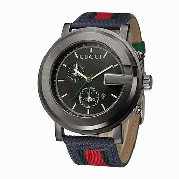 GUCCI fashion trendy men and women watch F-PS-XSDZBSH Brown