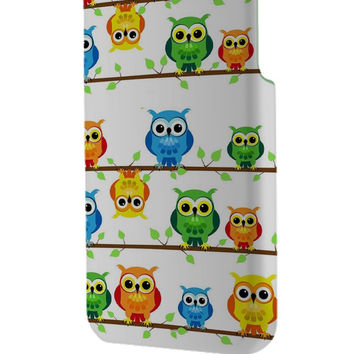 Best 3D Full Wrap Phone Case - Hard (PC) Cover with Owl Design