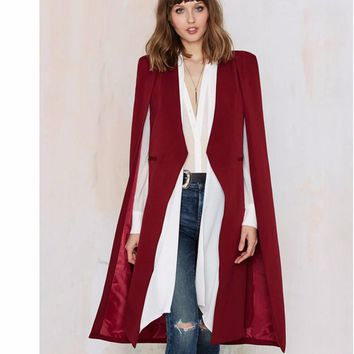 *Online Exclusive* Open Stitch Trench Coat