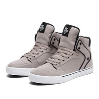 VAIDER COBBLESTONE / BLACK - WHITE | Official SUPRA Footwear Site