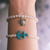 Sea Turtle Shell Bracelet