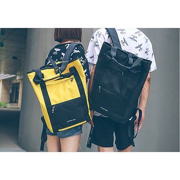 Street shoulder bag camouflage new Korean shoulder bag male large capacity student bag computer bag backpack