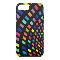 Colored lights phone case