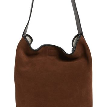 Pedro Garcia Colorblock Suede Bucket Bag | Nordstrom