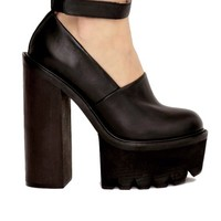 Scully platform shoes