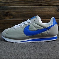 NIKE Cortez Forrest gump lovers shoes running shoes running shoes Grey blue hook