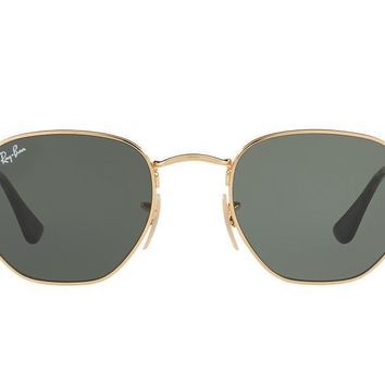 NEW SUNGLASSES RAY-BAN RB3548N in Gold