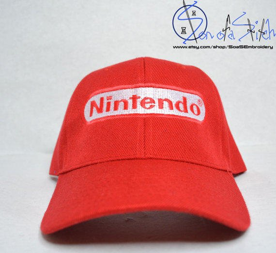 Diddy Kong Nintendo Hat from SoaSEmbroidery on Etsy | Hats