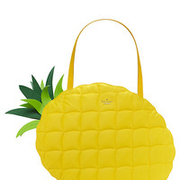 Kate Spade Wing It Pineapple Tote Goldenrod ONE