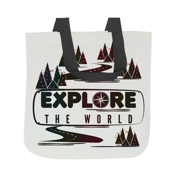 Explore the World Tote Bag