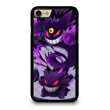 GENGAR POKEMON iPhone 4/4S 5/5S/SE 5C 6/6S 7 8 Plus X Case
