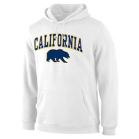 Men's Fanatics Branded White Cal Bears Campus Pullover Hoodie