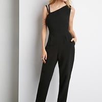Asymmetrical Strappy Jumpsuit