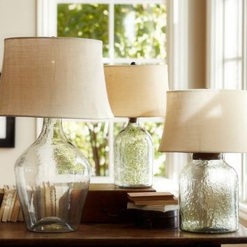 Shop glass base table lamps on wanelo clift glass table lamp base clear aloadofball Image collections