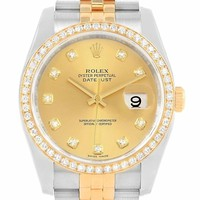 Rolex Datejust automatic-self-wind female Watch 116243 (Certified Pre-owned)
