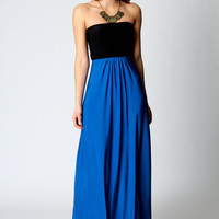 Heidi Slinky Bandeau Maxi Dress