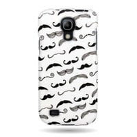 CoverON® Slim Hard Case for Samsung Galaxy S 4 S IV mini (Will Not Fit other S4 models) with Cover Removal Tool - (Mustache)